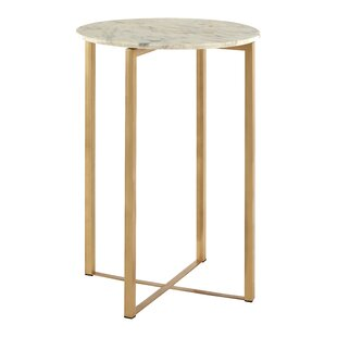Antique Brass Side Tables Wayfaircouk - Brushed brass side table