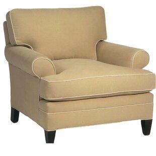Classic Comfort Loose Pillow Back Armchair