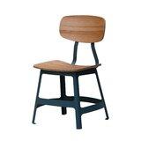 Esedra Side Chair in Brown by sohoConcept