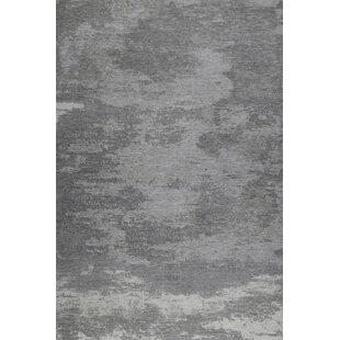 Kapstadt Woven Grey Rug by Theko