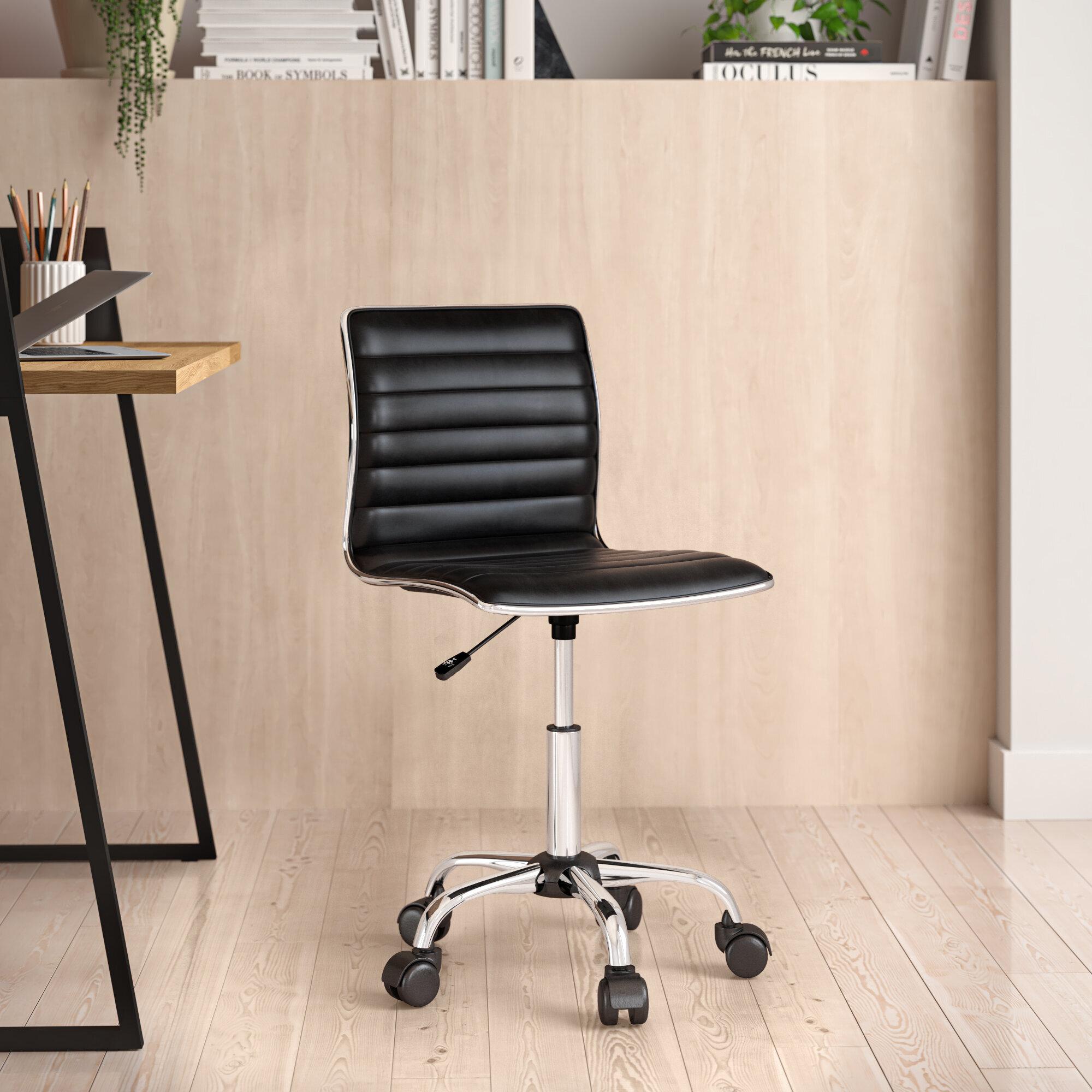 Lamont Vinyl Task Chair Reviews Allmodern