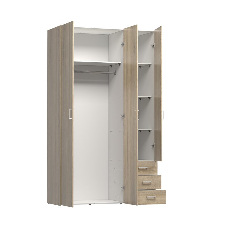 Merveilleux Superbe Minda 3 Drawer And 3 Door Armoire