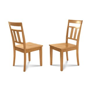 Dahle Solid Wood Dining Chair (Set of 2)