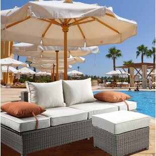 Winebarger Patio Sofa with Cushions