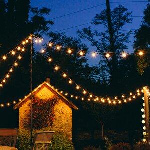 100 light globe string lights - Christmas Globe Lights