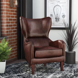 Bertita Wingback Chair by Tren..