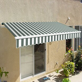California Manual Retractable Patio Awning by Awntech