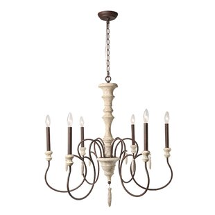 Compare & Buy Lebrun Shabby Elegance French Country 6-Light Chandelier By Ophelia & Co.