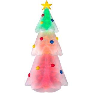 Pre-Lit Animated Christmas Tree Inflatable By The Seasonal Aisle