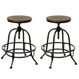 Taft Swivel 24 Counter Stool (Set of 2) by Williston Forge