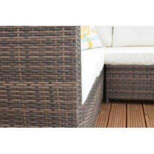 Sam 6 Seater Rattan Corner Sofa Set With Cushions Image