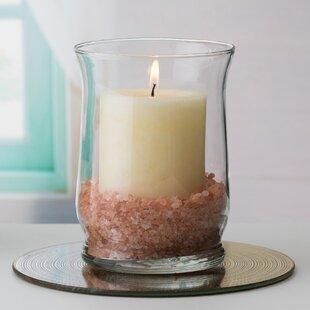 Adorn Hurricane Glass Table Vase (Set of 6)
