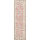 Studebaker Momeni Anatolia Pink Area Rug by Harriet Bee