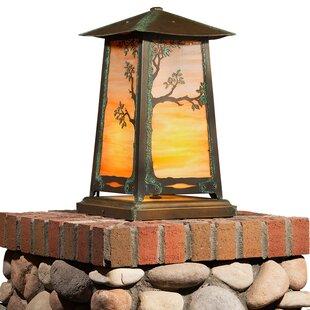 August Grove Devaughn Tree 1-Light LED Pier Mount Light