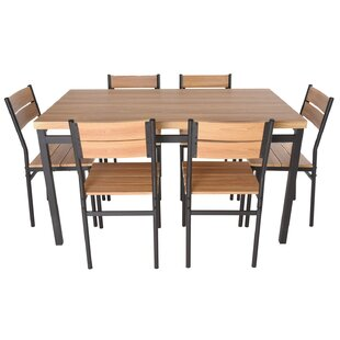 Kramer 7 Piece Dining Set by Williston Forge