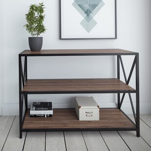 Altom X-Frame Metal Industrial Console Table