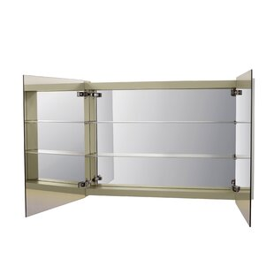 Brit 41.34 W x 27.56 H Wall Mounted Cabinet by Ronbow