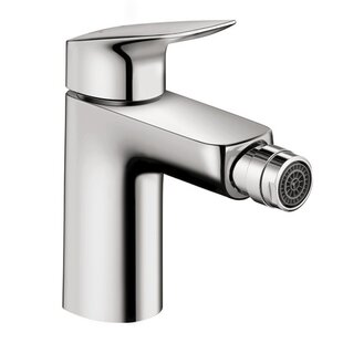 Hansgrohe Logis Bidet Faucet with Drain Assembly