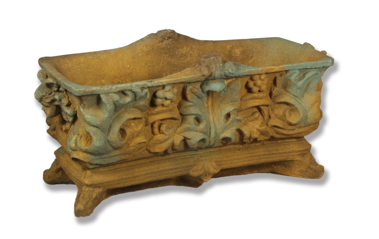 OrlandiStatuary Fiberstone Planter Box