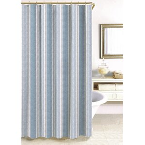 Blue Shower Curtains Youll Love - Beige and blue shower curtain