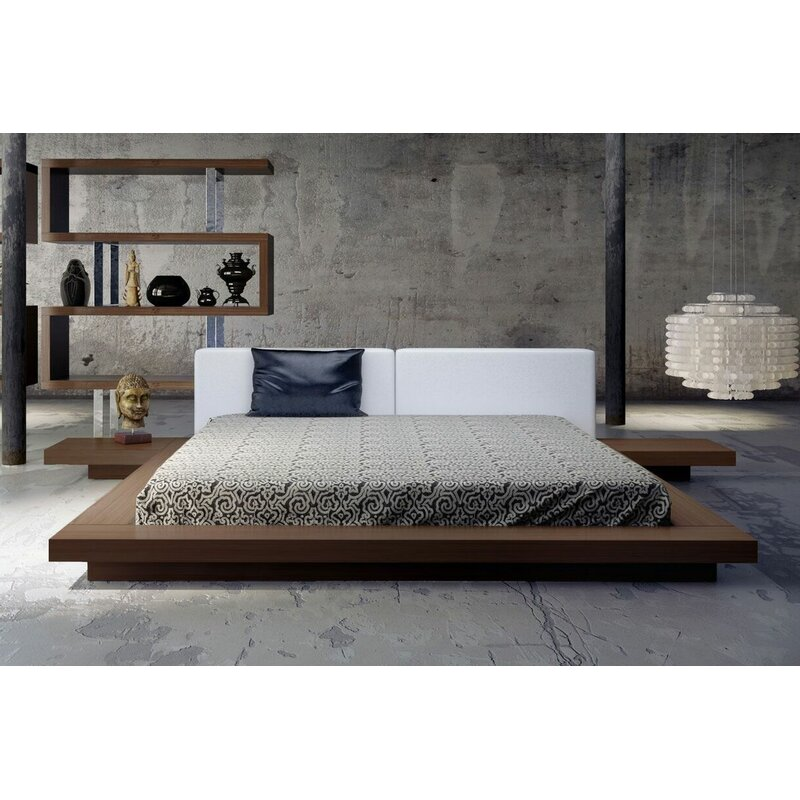 Contemporary Platform Bed Unique