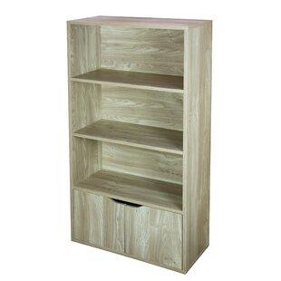 Kiersten 3 Tier Wood Standard Bookcase By Winston Porter
