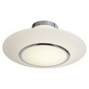 Latitude Run Jackson Heights 1-Light Semi Flush Mount
