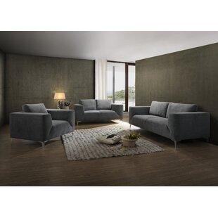 Wade Logan Ivyland Configurable Living Room Set