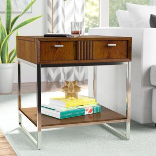 Look for Perla End Table by Wade Logan