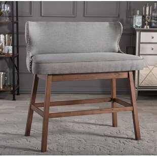 Corrigan Studio Isobel Upholstered Bar Bench