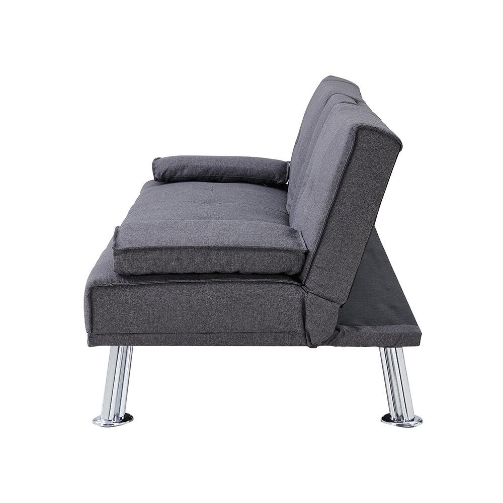Ebern Designs Romford 2 Seater Clic Clac Sofa Bed | Wayfair.co.uk