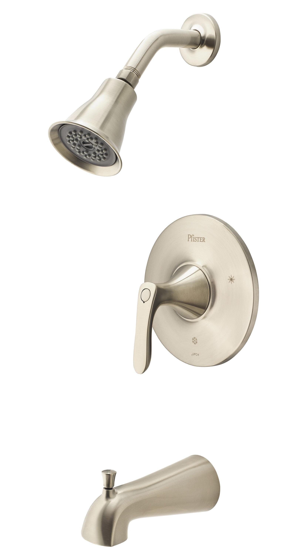 Pfister Weller Dual Function Tub And Shower Faucet Wayfair