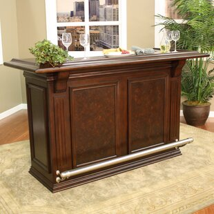 Santa Maria Bar with Wine Storage by American Heritage