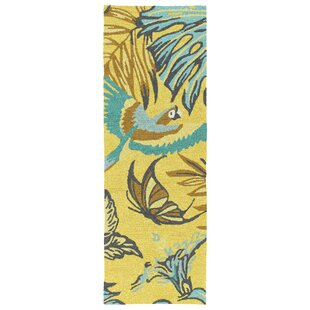 Navarre Handmade Yellow Indoor/Outdoor Area Rug