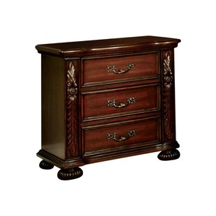 Corkermain 3 Drawer Nightstand by Astoria Grand