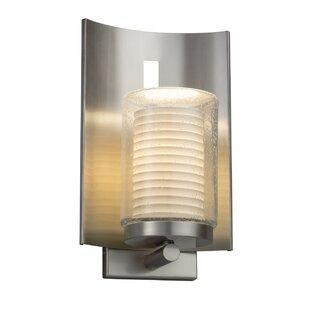Price comparison Darrien 1-Light Outdoor Sconce By Brayden Studio