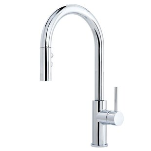 Miseno Gemma Multi-Flow Spray Pull Out Single Handle Kitchen Faucet