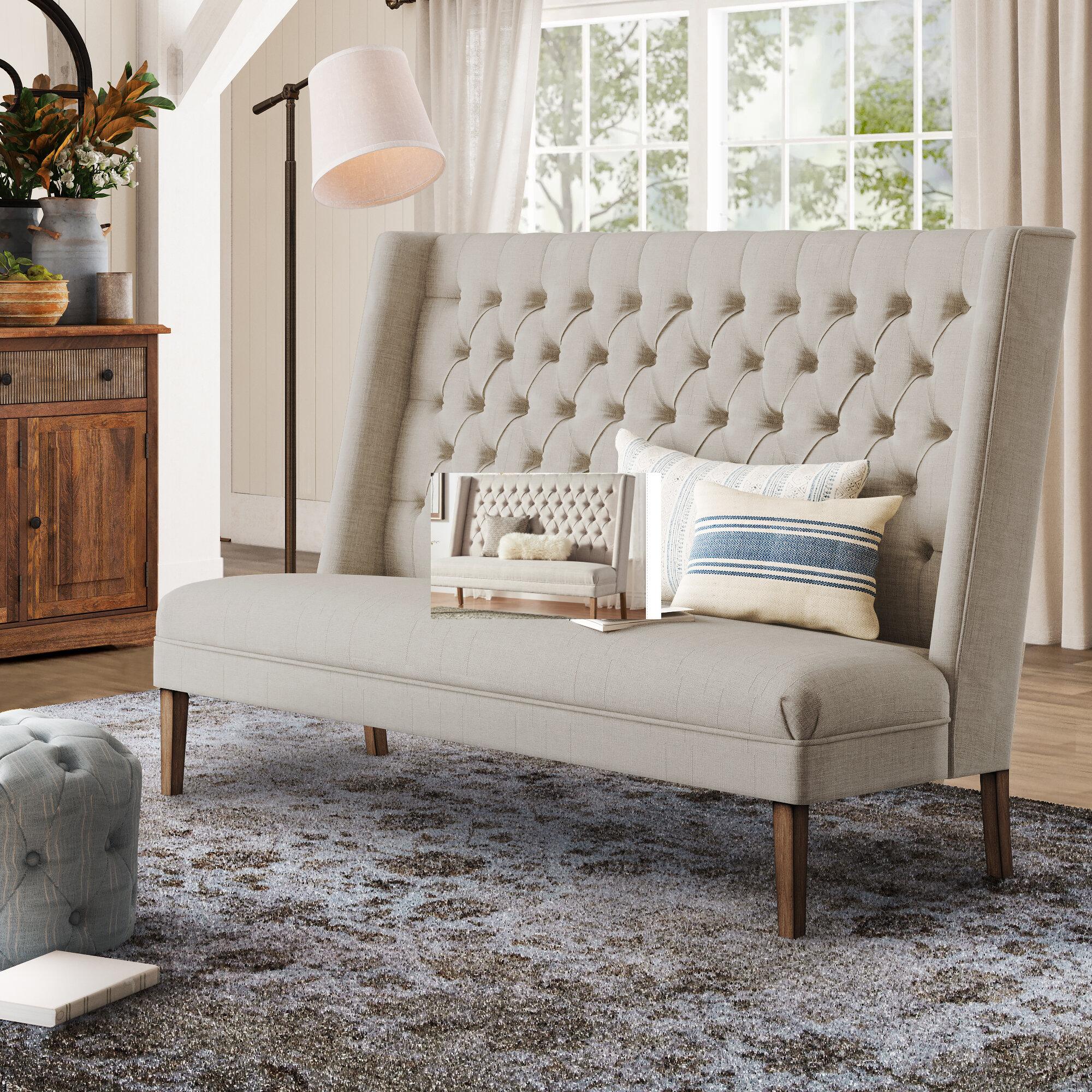 Picture of: Splendora Tufted Upholstered Bedroom Bench Reviews Birch Lane