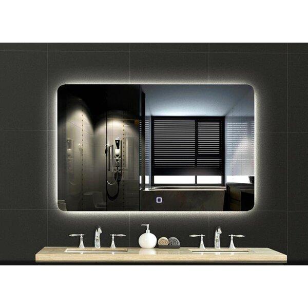Orren Ellis Cercis Backlit Modern Bathroom Vanity Mirror Wayfair