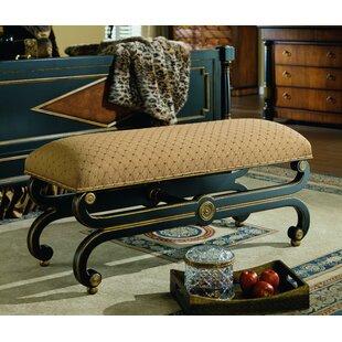 Regency Upholstered Bench by Eastern Legends