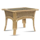 Tropical Breeze Glass Side Table