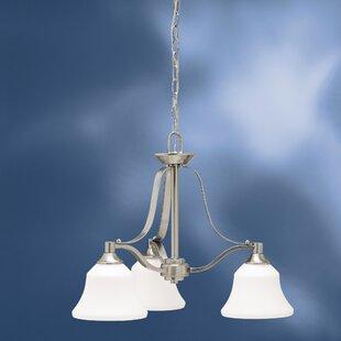 Avilla 3-Light Shaded Chandelier by Alcott Hill