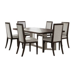 Mifley 7 Piece Dining Set Wrought Studio