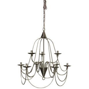 17 Stories Vahe 9-Light Chandelier