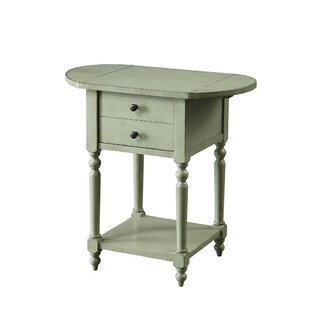 Prouty Spacious End Table with Storage
