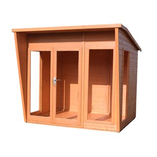 Fishburne 7.5 X 8 Ft. Shiplap Summer House By Sol 72 Outdoor