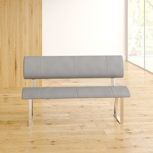 Barton Triple Diner Upholstered Dining Bench By Metro Lane
