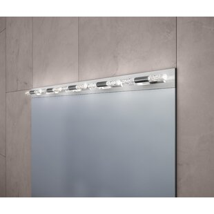 Sonneman Crystal Rods 10-Light LED Bath Bar