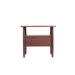 Loughlin Side End Table with Storage