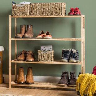 Macy 4 Tier Shoe Rack By Symple Stuff